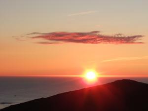 Bild Mitternachsonne auf den Lofoten