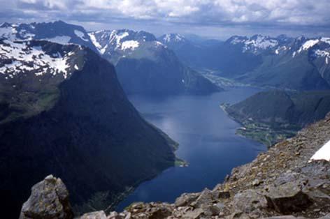 Bild Hjørundfjord
