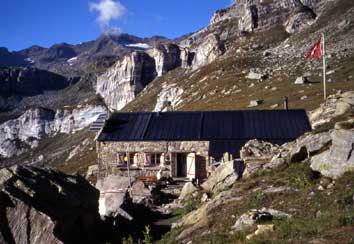 Bild Binntalhütte