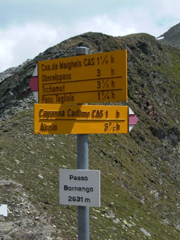 Bild Bornengo-Pass