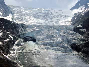 Bild Gletscherzunge